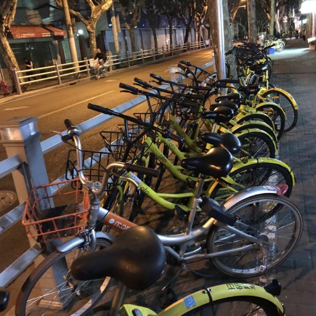 中国で人気のシェア自転車mobikeとofo