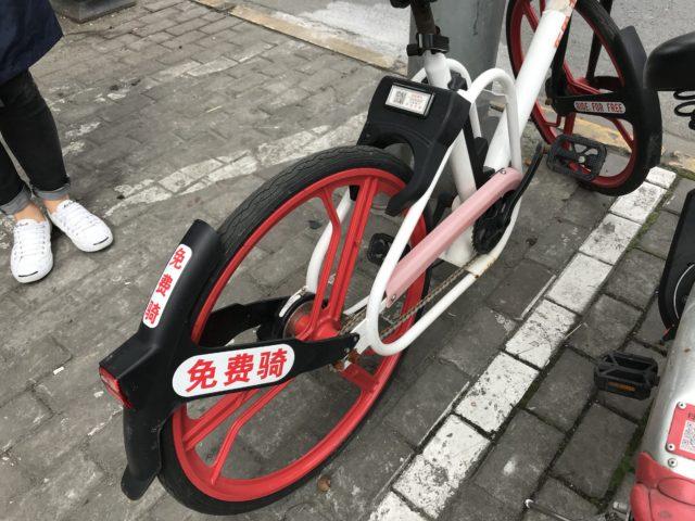中国で人気のシェア自転車には無料もありました