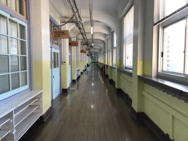旧大名小学校跡地