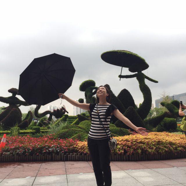 中国杭州の駅前写真|リモートガール
