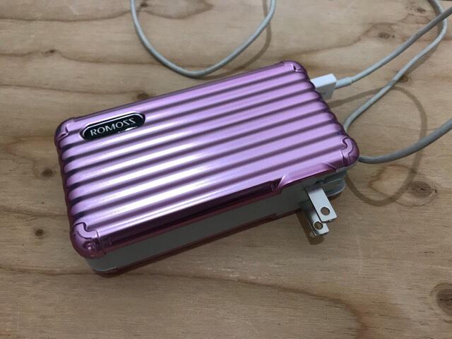スーツケース型バッテリー
