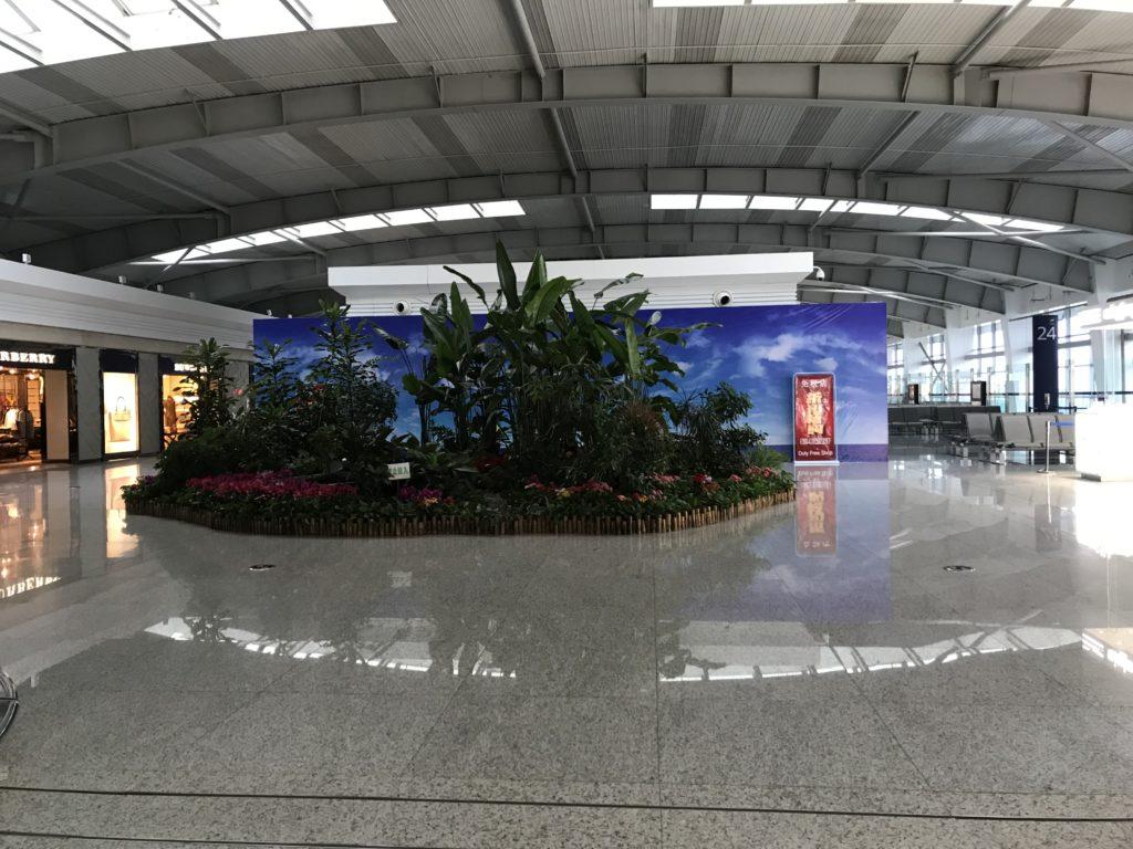福岡→大連周水子国際空港での乗り継ぎ