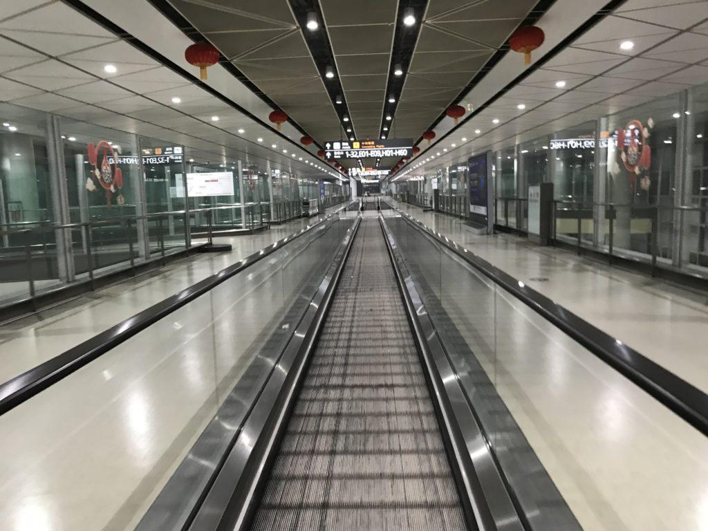 大連周水子国際空港→北京国際空港での乗り継ぎ