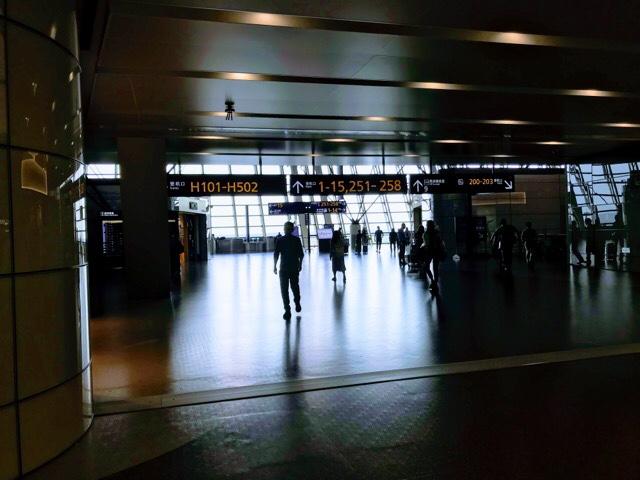 上海浦東国際空港での乗り継ぎ リモートガール