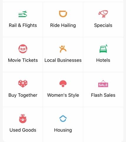 WeChat内のミニプログラムが利用できるようになる