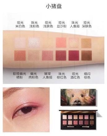 人気中国コスメPerfectdiary×Disucoveryコラボアイシャドウパレット