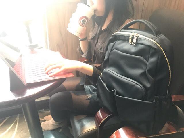 女性用きれいめ通勤ビジネスリュック|REMOTE GIRL