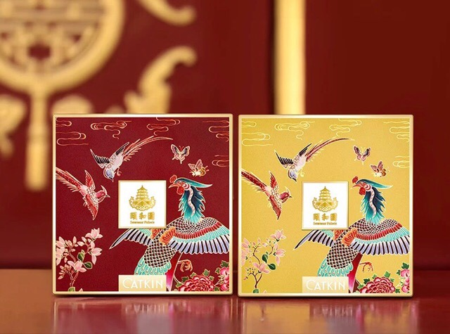 中国コスメ界で人気の芸術的アイシャドウ|CATKIN(頤和園)アイシャドウ